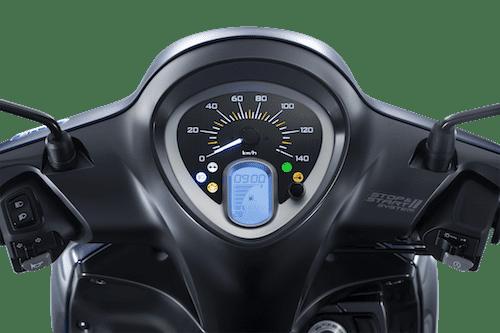 Thiết kế cụm đồng hồ trên Yamaha Janu