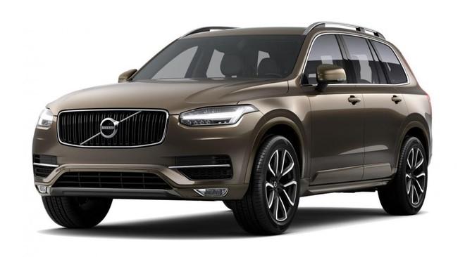 Volvo XC 90 2018 màu đồng (twilight bronze)