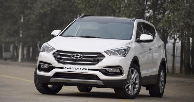 giá xe Hyundai Santa Fe