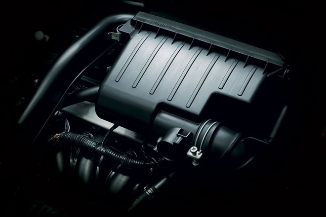 Trang bị động cơ Mitsubishi Attrage