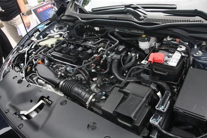 Trang bị động cơ của Honda Civic