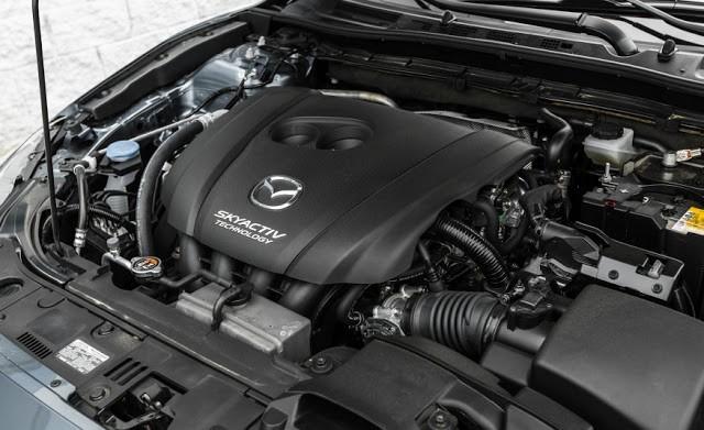 Trang bị động cơ Mazda3