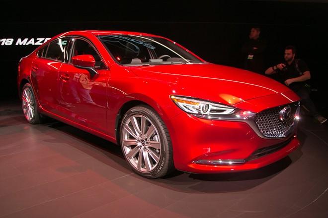 Thiết kế ngoại thất của Mazda6
