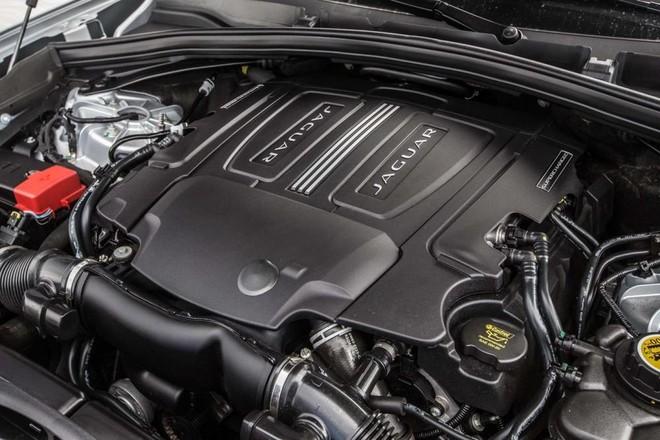Trang bị động cơ Jaguar F-Pace