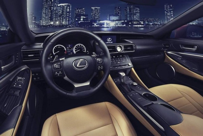 Nội thất Lexus RC