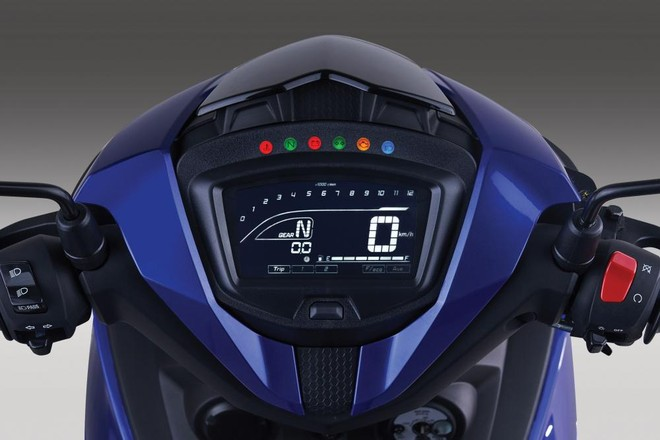 Yamaha Exciter 150 2019  trang bị đồng hồ kỹ thuật số hoàn toàn