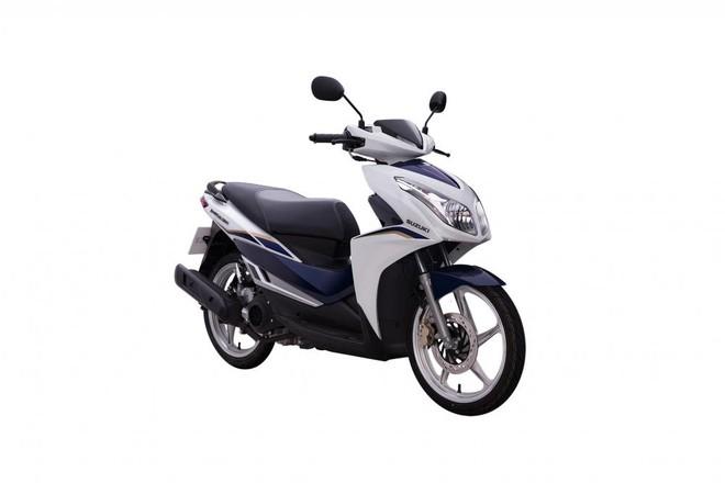 Suzuki Impulse Trắng Xanh
