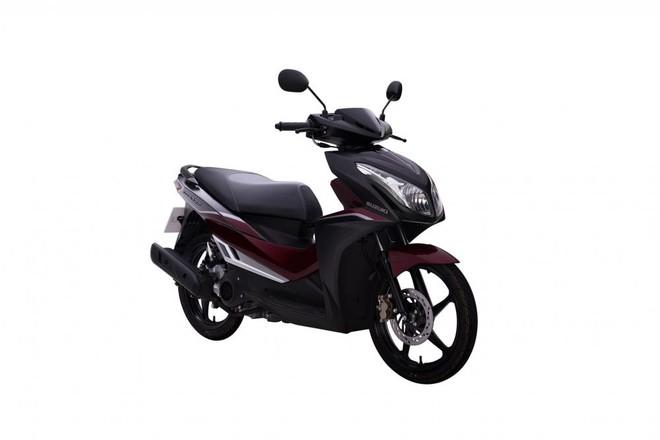 Suzuki Impulse Đen mờ Đỏ
