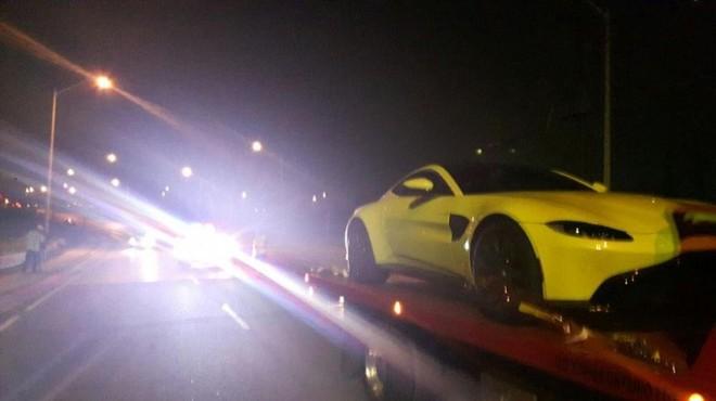 Cảnh sát Canada tạm giữ siêu xe Aston Martin Vantage bảy ngày cũng với lý do chủ nhân lái xe quá tốc độ