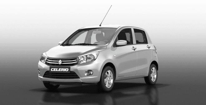 Ngoại thất Suzuki Celerio màu bạc