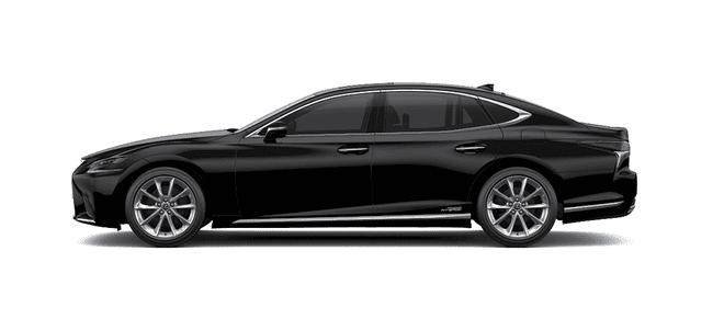 Ngoại thất Lexus LS màu đen