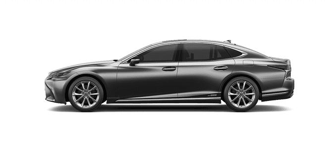 Ngoại thất Lexus LS màu xám