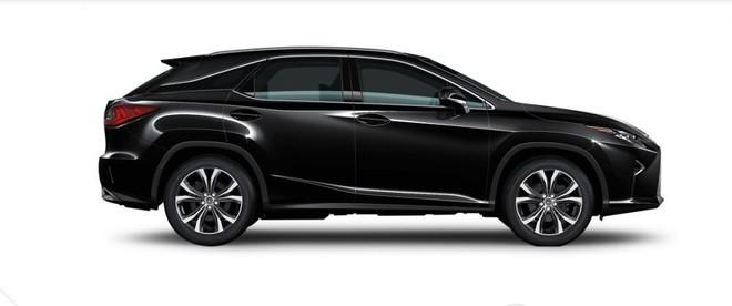 Ngoại thất Lexus RX màu đen