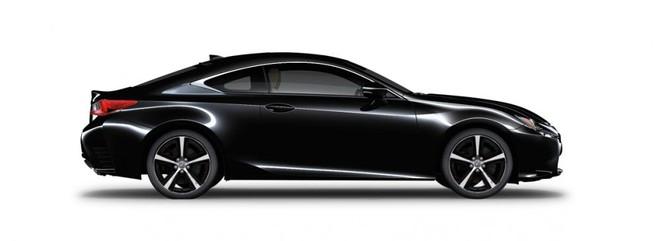 Ngoại thất của Lexus RC màu đen
