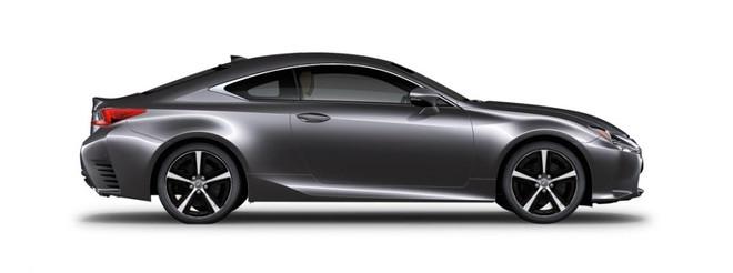 Ngoại thất của Lexus RC màu xám