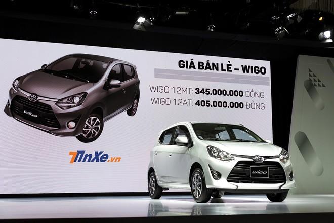 Cập nhật giá xe Toyota Wigo tháng 9/2018 mới nhất hôm nay