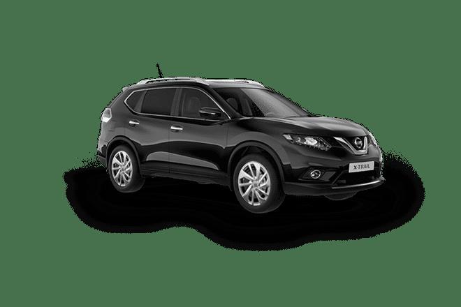 Nissan XTrail màu đen