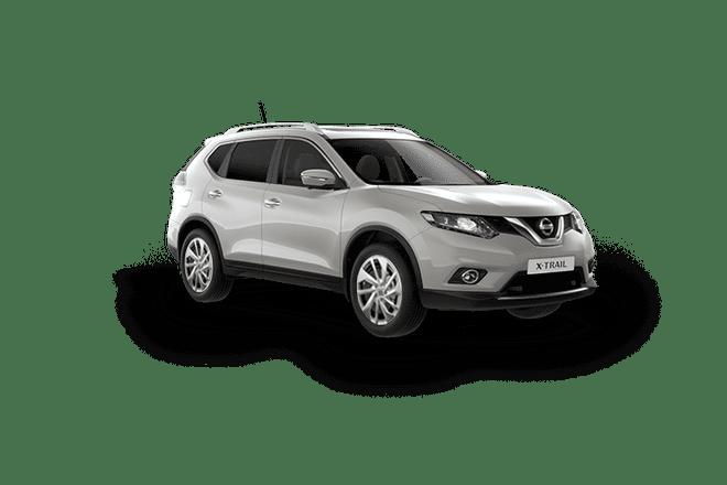 Nissan XTrail màu bạch kim