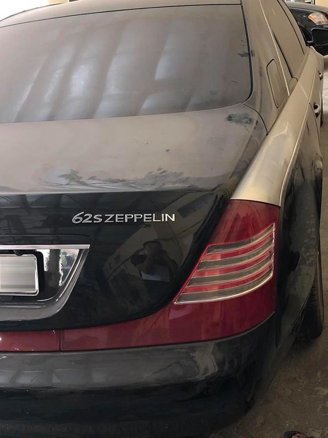 Maybach 62S màu đen độ lên phiên bản Zeppelin