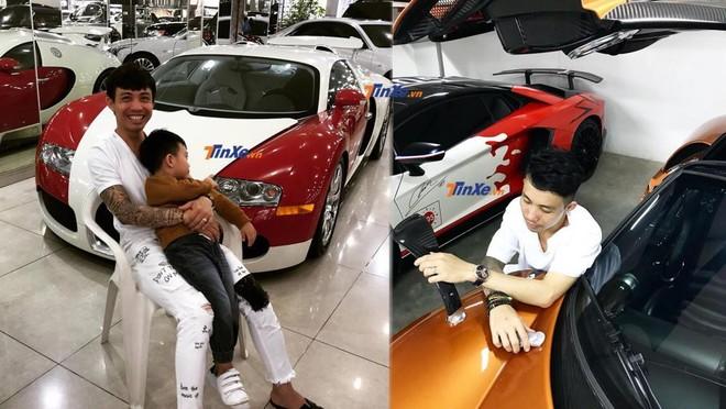 Minh Nhựa là người hiếm hoi từng sở hữu cặp đôi Bugatti Veyron và Pagani Huayra