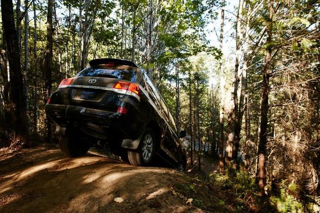 Toyota Land Cruiser 2019 có nhiều hệ thống hỗ trợ việc off-road