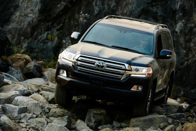 Toyota Land Cruiser 2019 có khả năng kéo ấn tượng