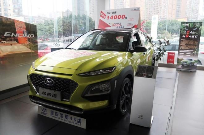 Encino - phiên bản Trung Quốc của Hyundai Kona - không bán chạy như kỳ vọng