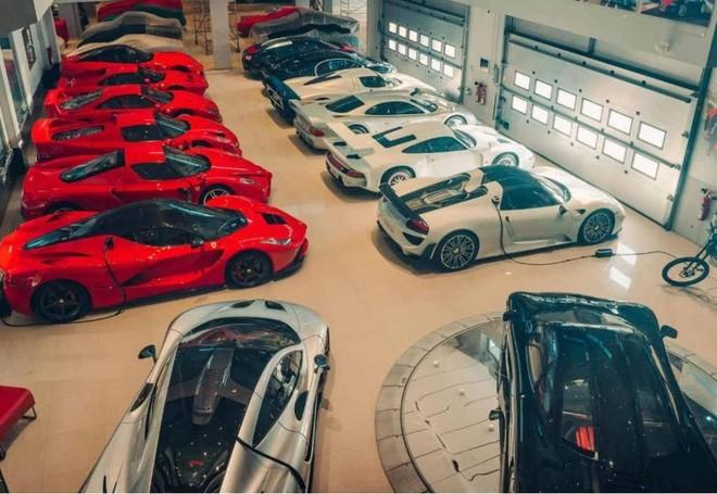 Bộ sưu tập siêu xe hơn 3 nghìn tỷ đồng tại Vương quốc Bahrain