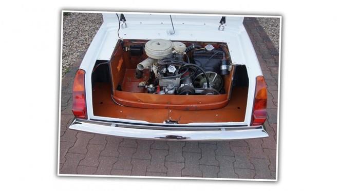 Khoang chứa động cơ được đặt ở đuôi xe