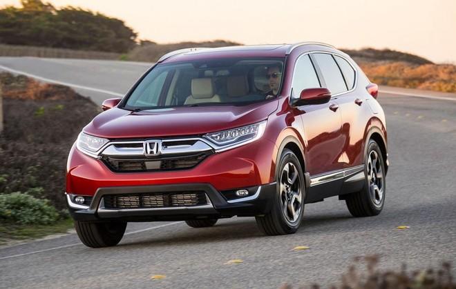 Tháng 10, CR-V trở lại nâng gót doanh số Honda tăng trưởng