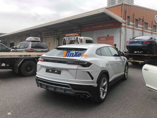 Lamborghini Urus đầu tiên Việt Nam