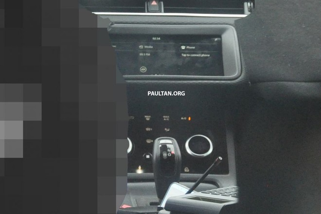 Màn hình thông tin giải trí của Range Rover Evoque 2020