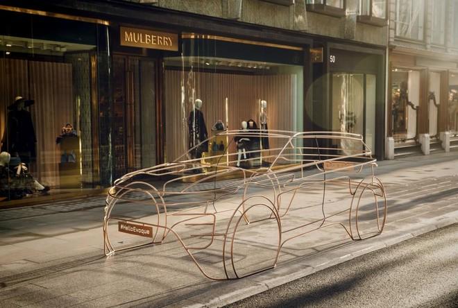 Mô hình có tỷ lệ 1:1 này xuất hiện trên những con phố náo nhiệt nhất của thủ đô London