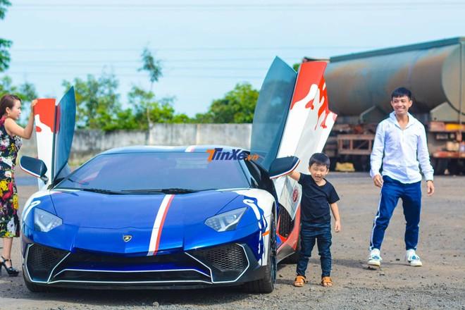 Lamborghini Aventador LP750-4 SV lúc còn thuộc sở hữu của Minh Nhựa