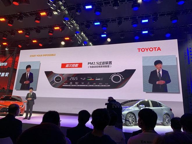 Toyota Levin 2019 còn có hệ thống lọc PM2.5