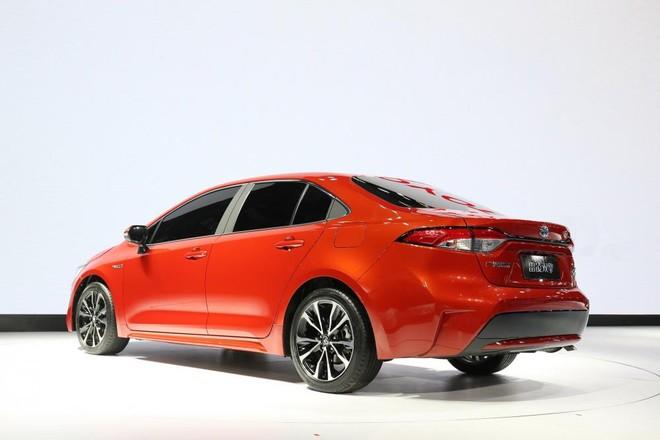 Toyota Levin 2019 dùng vành la-zăng riêng