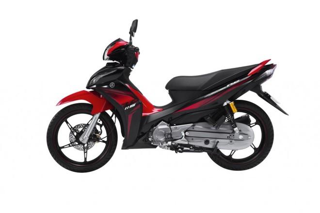 Yamaha Jupiter FI màu Đỏ Đen