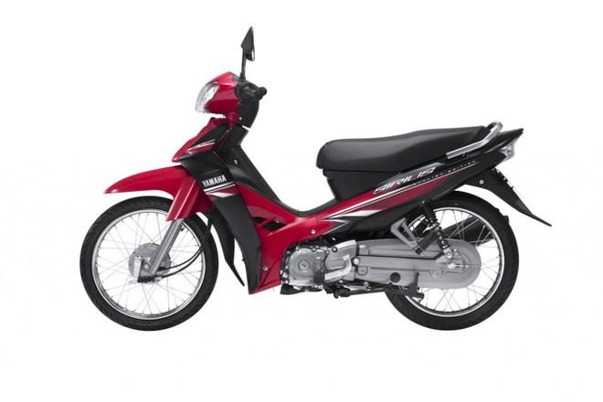 Yamaha Sirius màu Đỏ