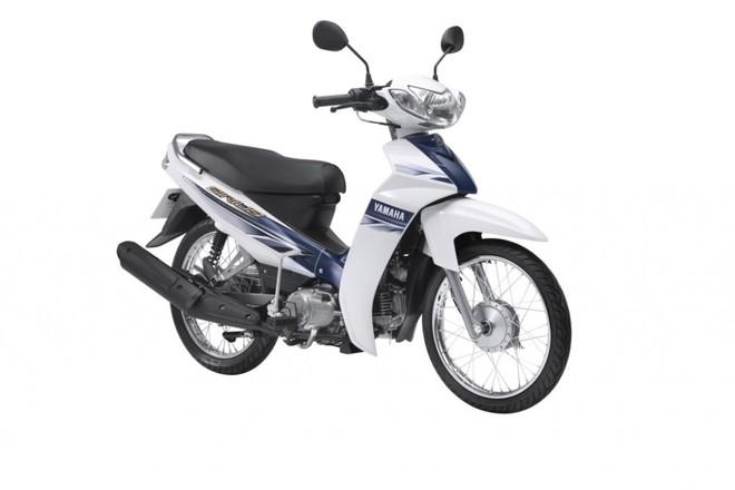 Yamaha Sirius màu Trắng