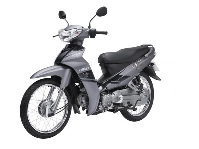 Yamaha Sirius màu Xám