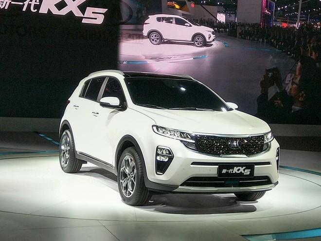 Kia KX5 2019 ra mắt thị trường Trung Quốc trong triển lãm Ô tô Quảng Châu 2018