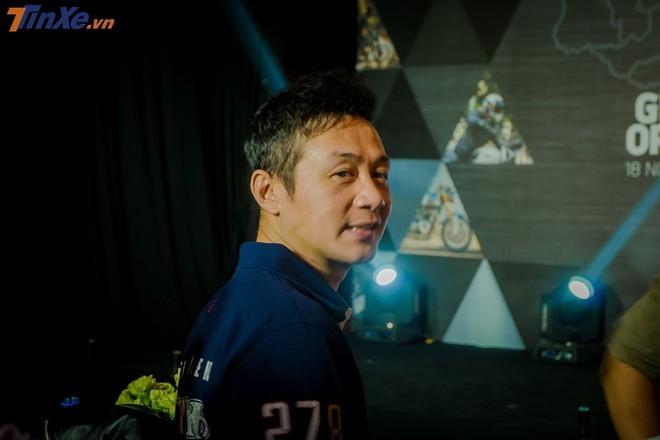 MC Anh Tuấn - đại sứ thương hiệu của Triumph tại Việt Nam