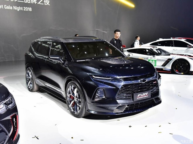 Chevrolet FNR-CarryAll ra mắt thị trường Trung Quốc dưới dạng xe concept