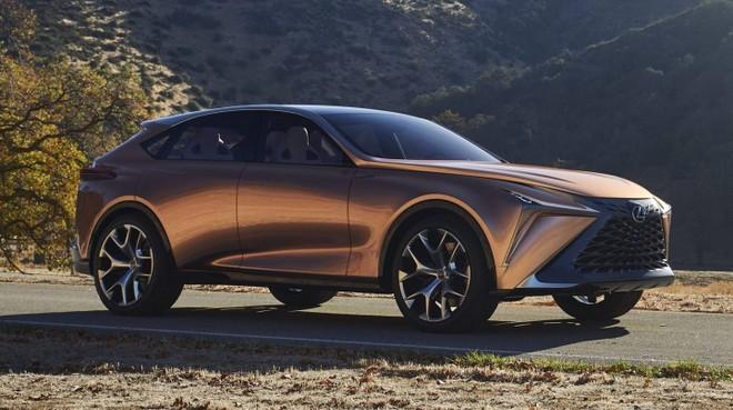 Lexus LF-1 Limitless Concept đã ra mắt tại triển lãm Ô tô Detroit 2018