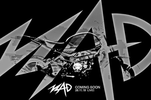 Quảng cáo của GPX Racing về chiếc xe MAD 300 khá bắt mắt và trẻ trung