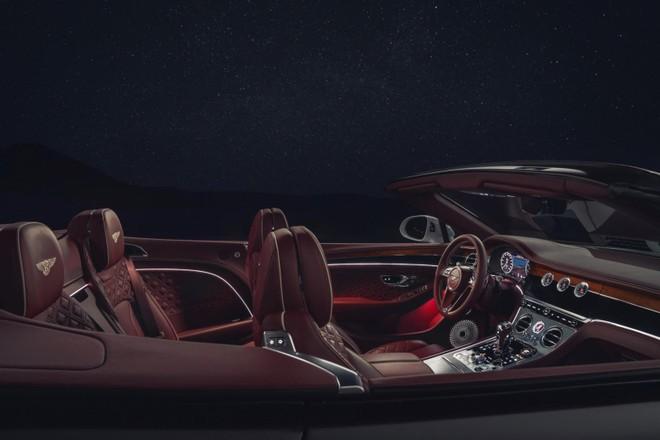Bentley Continental GT Convertible 2020 có 3 hệ thống âm thanh