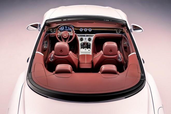 Màn hình cảm ứng 12,3 inch của Bentley Continental GT Convertible 2020