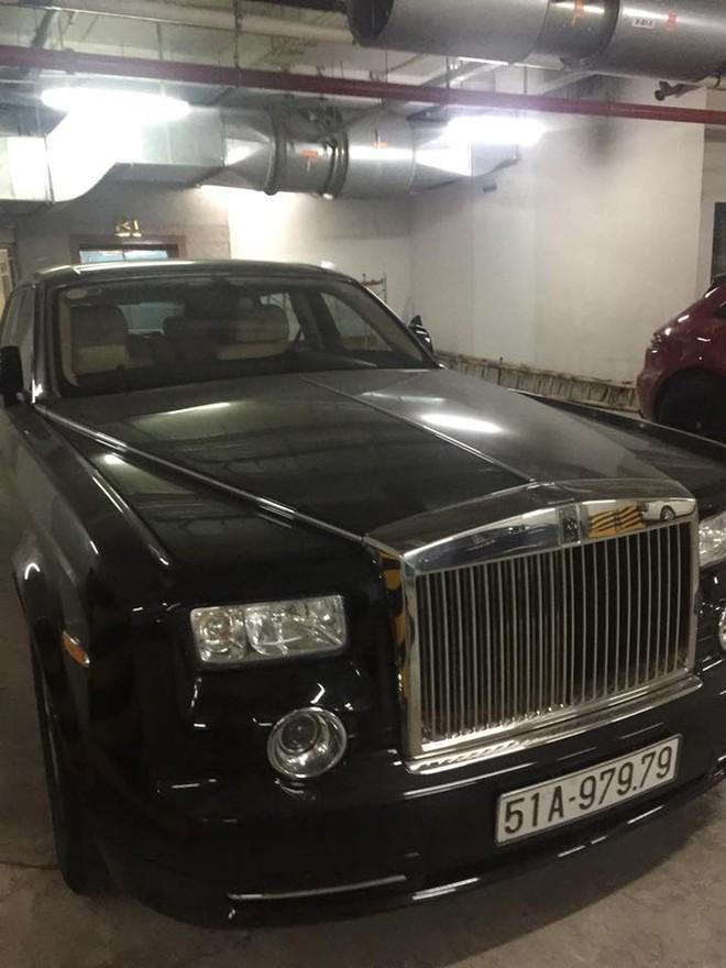 Rolls-Royce Phantom biển kiểm soát Sài thành với 4 số cuối là cặp thần tài lớn