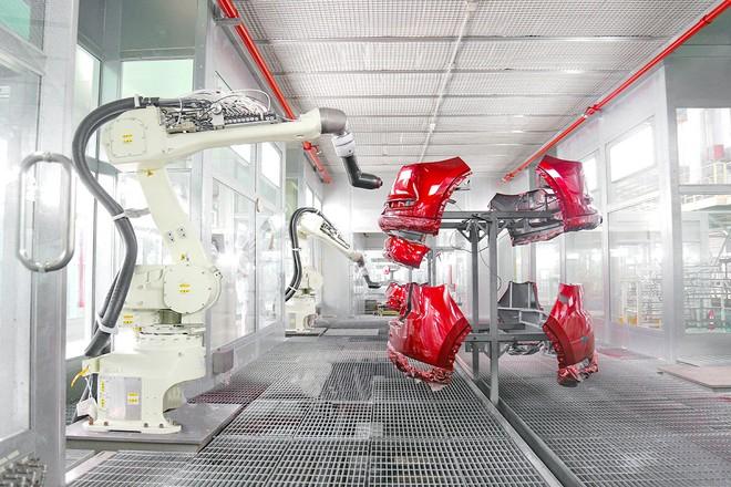 Thaco tiến hành nâng cao tự động hóa trong chuỗi nhà máy của mình