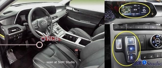 Nội thất bên trong Hyundai Palisade 2020